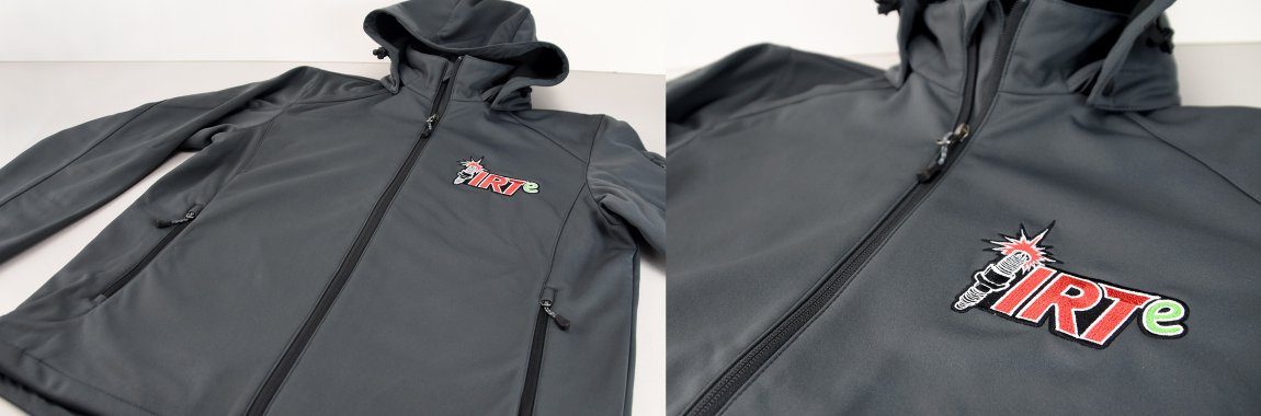 Ignition Racing Team - Bestickte Softshelljacke